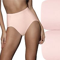 Bali 2 pkUltra-Control Seamless Tummy Panel Briefs X245 - Women's