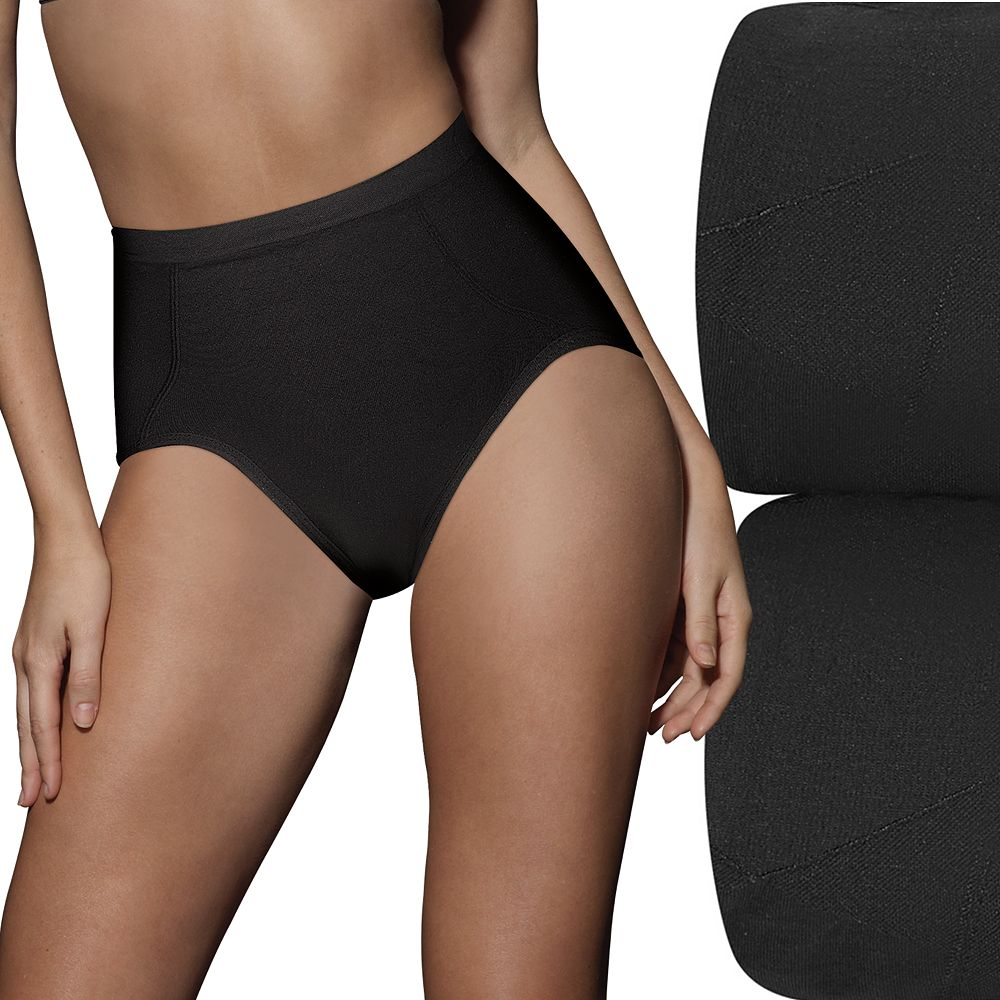 Bali® 2-pk. Ultra-Control Seamless Tummy Panel Briefs X245 - Women's