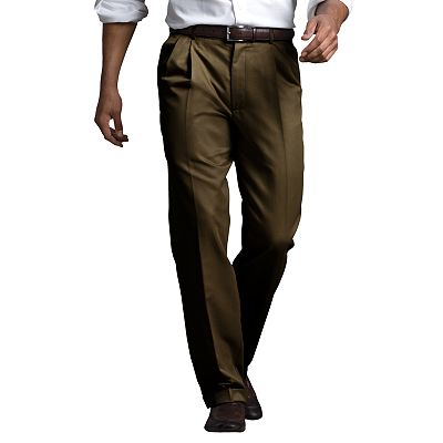 Dockers Stain Defender Classic-Fit Pleated Pants