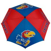 Kansas Jayhawks WindSheer Hybrid Golf Umbrella