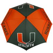 Miami Hurricanes WindSheer Hybrid Golf Umbrella