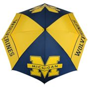 Michigan Wolverines WindSheer Hybrid Golf Umbrella