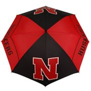 Nebraska Cornhuskers WindSheer Hybrid Golf Umbrella