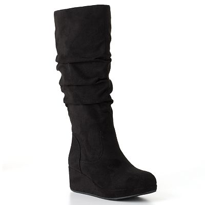 Candie's Tall Wedge Boots - Girls
