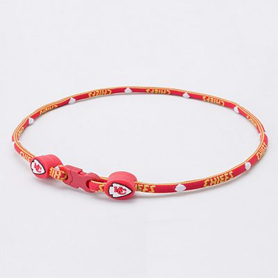 Kansas City Chiefs 18-inch Titanium Sport Necklace