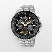 Citizen Eco-Drive Skyhawk A-T Titanium Analog and Digital Flight Computer Chronograph Watch - Men