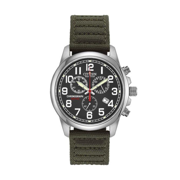 Sale Citizen Watch Men S Eco Drive Chronograph At0200