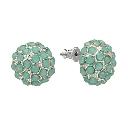 LC Lauren Conrad Button Stud Earrings