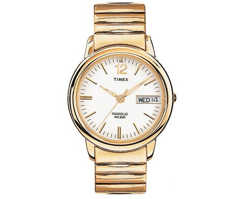 Timex Indiglo Gold Tone Expansion Watch - T21942 - Men