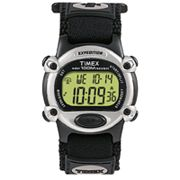 Timex Indiglo Expedition Black Digital Chronograph Watch - T48061 - Men