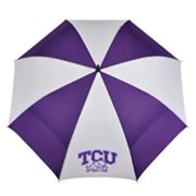 TCU Horned Frogs WindSheer Hybrid Golf Umbrella
