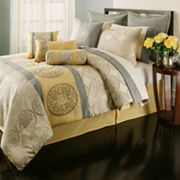 Home Classics Kyley 20-pc. Medallion Bed Set - Queen