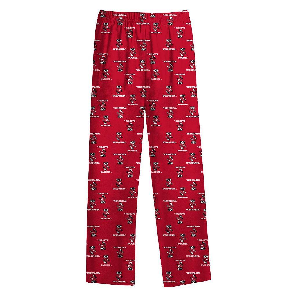 Wisconsin Badgers Lounge Pants - Boys 8-20