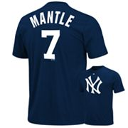 Majestic New York Yankees Mickey Mantle Cooperstown Tee