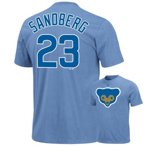 Majestic Chicago Cubs Ryne Sandberg Cooperstown Tee