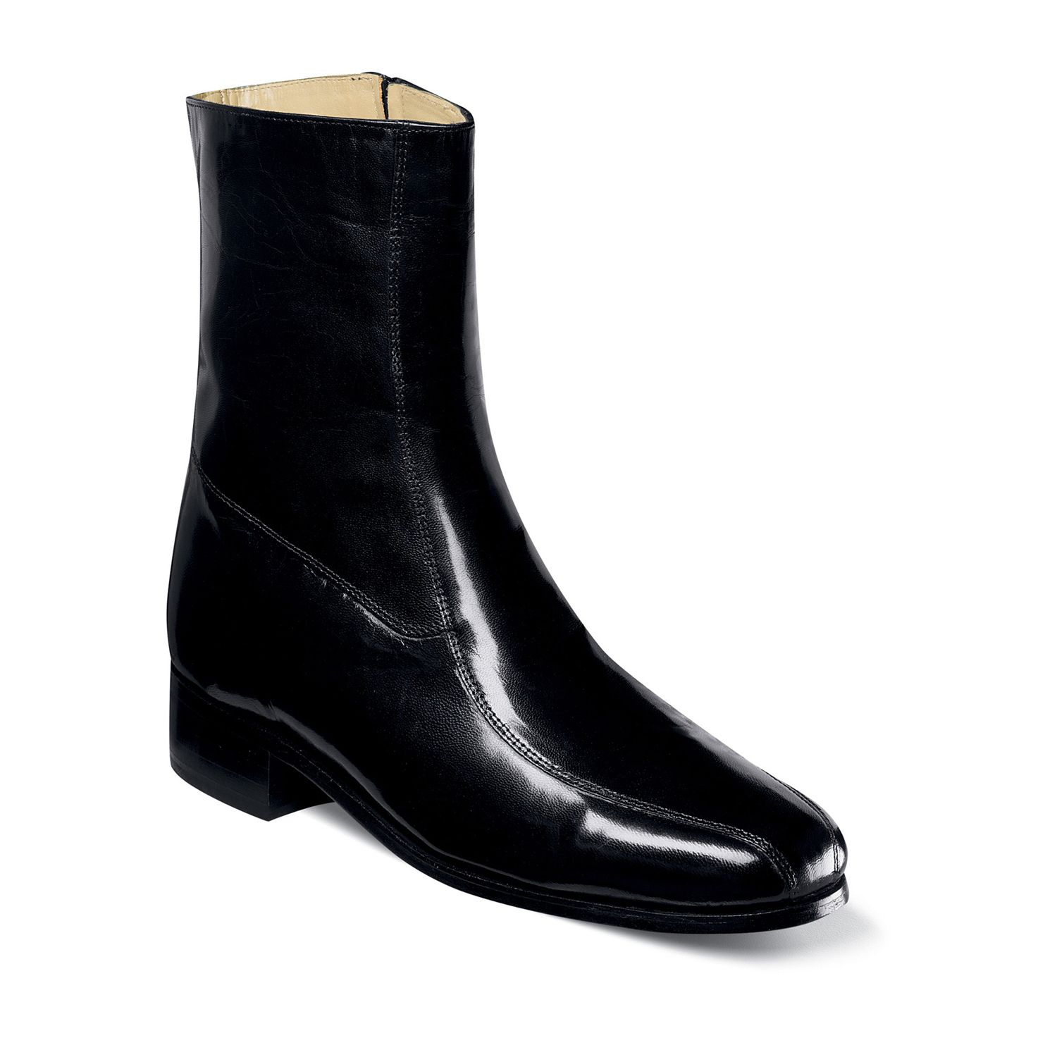 Dress Black boots for men pictures