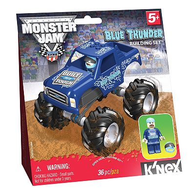 Monster Jam Blue Thunder Building Set by K'NEX