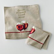 Croft and Barrow Vineyard 2-pk. Dishcloths