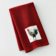 Croft and Barrow Rooster Kitchen Towel