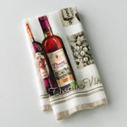 Croft and Barrow Vineyard Kitchen Towel