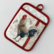 Croft and Barrow Rooster Potholder