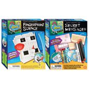 Slinky Science Fingerprint Science and Secret Messages Combo Pack