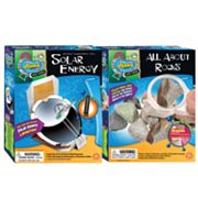 Slinky Science Solar Energy and All About Rocks Combo Pack