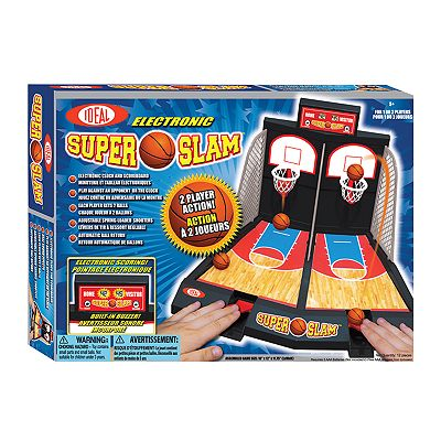 Ideal Electronic Super Slam Basketball Game