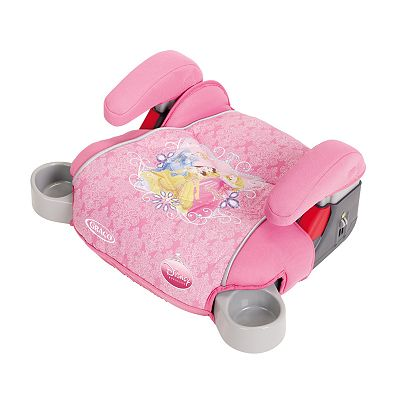 Disney Princess Backless TurboBooster Car Seat By Graco