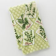 Croft and Barrow Herbs Kitchen Towel