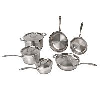 BergHOFF Earthchef 10 pc Copper Clad Cookware Set