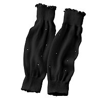 Jacques Moret Rhinestone Leg Warmers - Girls 4-14