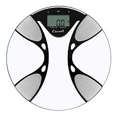 Escali Glass Body Fat and Body Water Digital Bathroom Scale