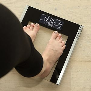 Escali Track and Target Digital Bathroom Scale