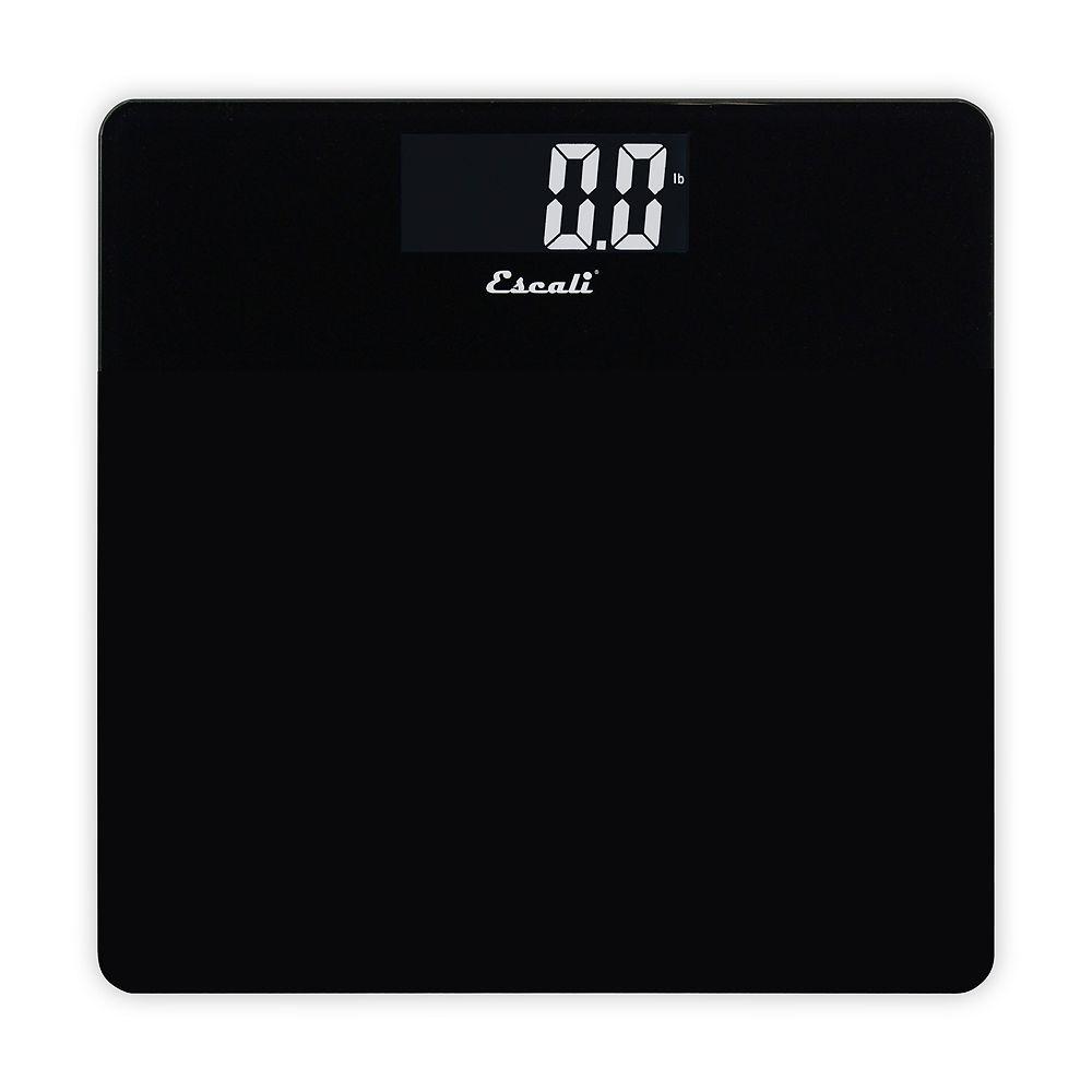Escali Colored Square Digital Bathroom Scale