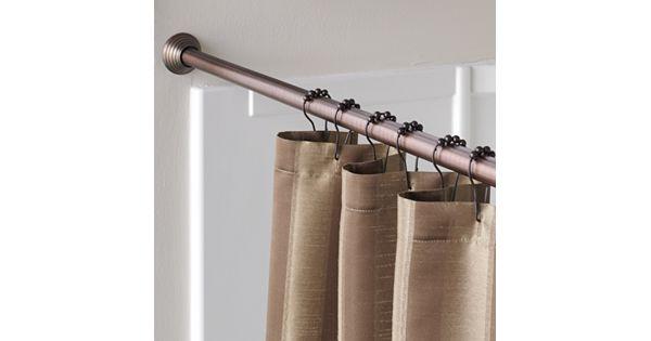 Home Classics 174 Finial Shower Curtain Rod