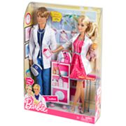 Barbie I Can Be A Doctor: Working Together Doll Set by Mattel