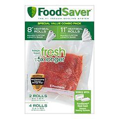FoodSaver 6 pkHeat-Seal Rolls