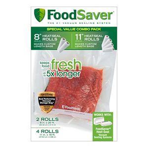 FoodSaver 6-pk. Heat-Seal Rolls