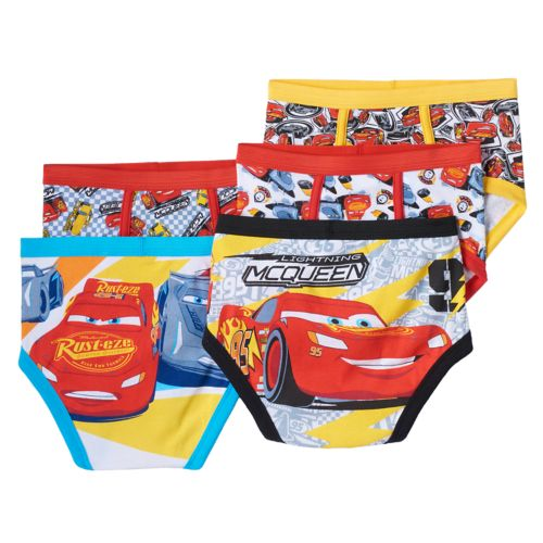 Disney / Pixar Cars 5-pk. Briefs - Boys 4-8
