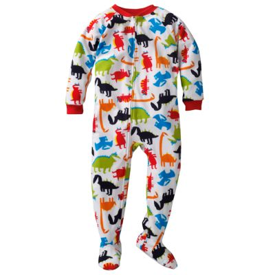 Carter's Dinosaur Fleece Footed Pajamas - Toddler