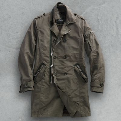 Marc Anthony Military Trench Coat