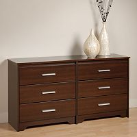 Prepac Coal Harbor 6-Drawer Dresser