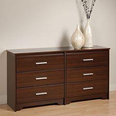 Prepac Coal Harbor 6-Drawer Dresser