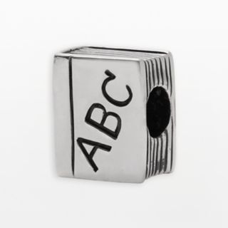 Individuality Beads Sterling Silver ABC Book Bead