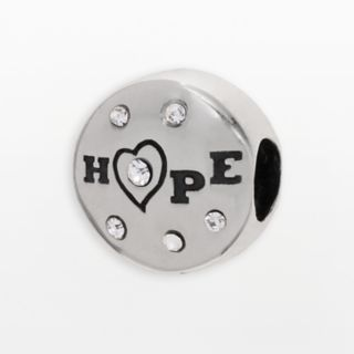 Individuality Beads Sterling Silver Crystal Hope Bead