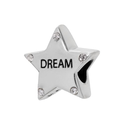 Individuality Beads Sterling Silver Crystal Dream Star Bead