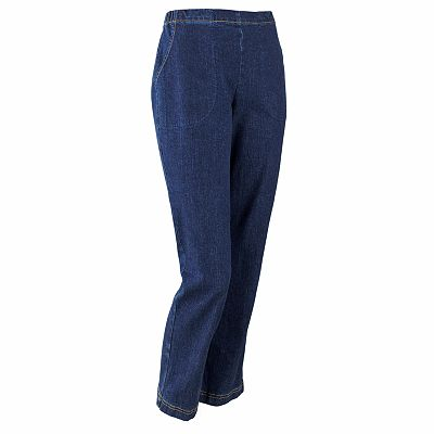 Croft and Barrow Straight-Leg Pull-On Jeans - Petite