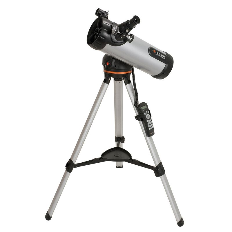 Celestron 114LCM Computerized Telescope, Grey