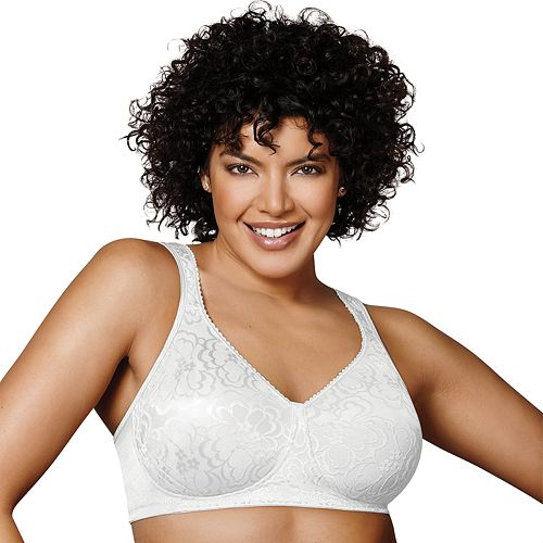 acbc02ab35 Playtex Bra  18 Hour Ultimate Lift   Support Full-Figure Bra 4745 - Women s